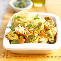 Chicken w/Parmesan Noodles (BHG)