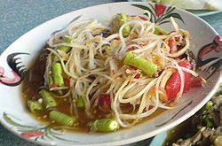 Thai Papaya Salad - Som Tum