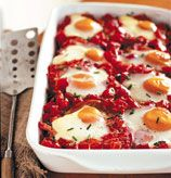 Shirred (Baked) Eggs