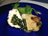 Spinach Bacon Chicken Roulades