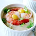 Chinese Steamed Egg with Seafoods