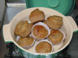Healthy Banana Muffins