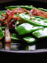 Snow Pea Seasame Chicken Salad