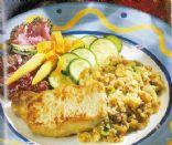 Pork Chops with Jalapeno-Pecan Cornbread Stuffing