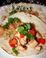 Un-Chained Recipe Contest: Chicken Tacos with homemade salsa