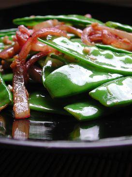 Snow Pea Seasame Chicken Salad