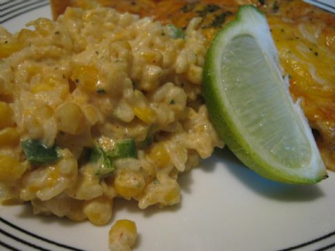 Mexican Sour Cream Rice Recipe | SparkRecipes