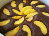 Chocolate - Ancho Peach Cake