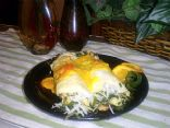 Chicken Crepes Florentine
