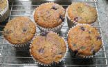 Mixed berry corn muffins