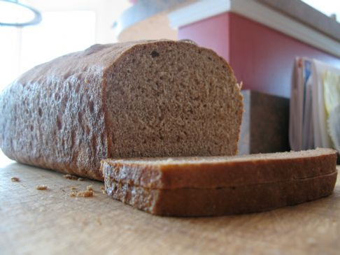 Easy Whole Wheat Bread, Lightened Up