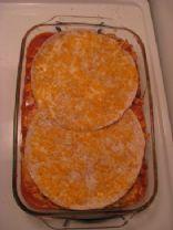Melissa's Modified Taco Lasagna