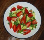 Valentine`s Strawberry Salad