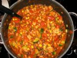 Amanda's Veggie Loaded Turkey Chili