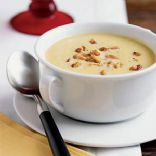 Butternut Squash Soup with Toasted Walnuts