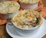 Easy Home Style Chicken Pot Pie 