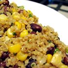 Quinoa with Black Beans and Corn