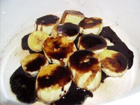 Chocolate Banana Snack