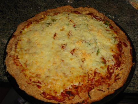 Angel's Whole Wheat Pizza Crust