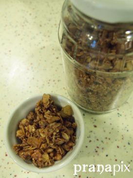 Olive Oil Granola Cluster Goodness