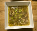 Swine Flu Stew (or best mushroom soup ever)
