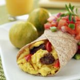Veg & Egg Breakfast Buritto