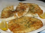 Calamari Steaks with Lemon Butter & Parsley