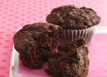 Whole Wheat Double-Chocolate Muffins