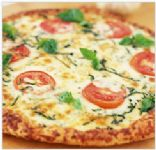 Whole-Wheat Pizza Margherita