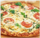Whole-Wheat Pizza Margherita