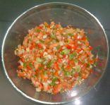 Helene's Wasabi Salsa Fresca
