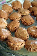 Chocolate Badem (Almond) Cookies