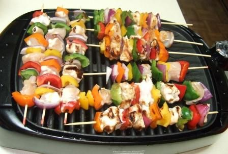Chicken Teriyaki Shishkabobs