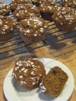 Light Pumpkin Bran Muffins