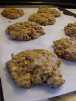 Baked Oatmeal Breakfast Cookies