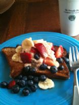 Banana Berry French Toast