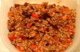 quinoblack bean tomato salad