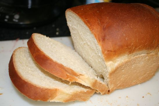 White Bread - Master Bread Recipe from Fleishmanns