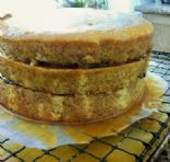 Buttery Banana Cake with a Buttermilk Glaze