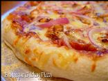 Low Calorie BBQ Chicken Pizza