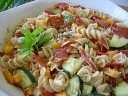 Pepperoni Pasta Salad