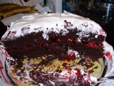 Kristin's Light Black Forest Cake