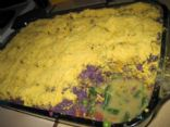Haley's Okinawan Sweet Potato Shepard Pie