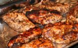 Andi's Jerk Chicken (with bottled marinade)