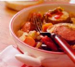 Harvest Kielbasa & Vegetable Casserole