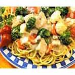 Healthy Chicken & Pasta Primavera