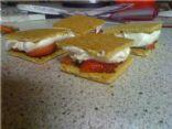 Chocolate Strawberry Ice Cream Sandwich