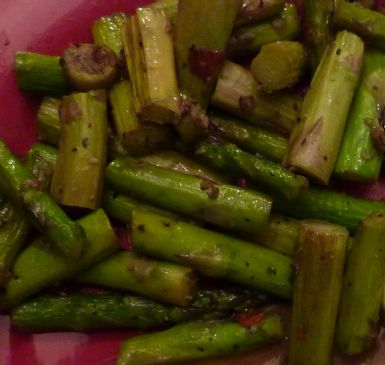 Asparagus and Olive Saute