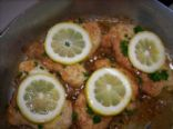CHICKEN WITH WHITE WINE AND PARSLEY