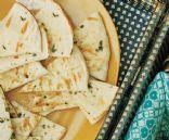 Garlic-Oregano Grilled Whole Wheat Pita Bread